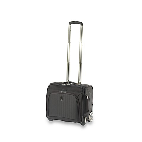 Travelpro® Platinum® 7 Deluxe Rolling Tote in Black