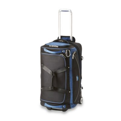 Travelpro® Tpro Bold™ 26-Inch Drop Bottom Rolling Duffel in Blue