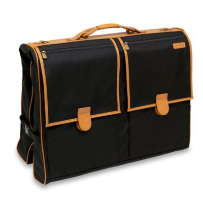 Hartmann® Packcloth Deluxe Garment Bag in Black