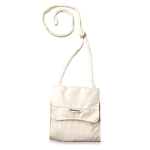 Samsonite® Security Neck Pouch - Cream