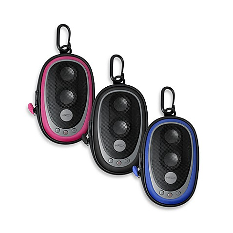 HMDX® Audio by HoMedics® Speaker-on-the-Go Portable Speaker Case