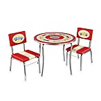 Retro Racers 3-Piece Table and Chairs Set