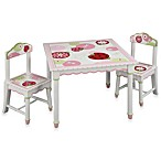 Sweetie Pie Table and Chairs Collection by Lambs & Ivy