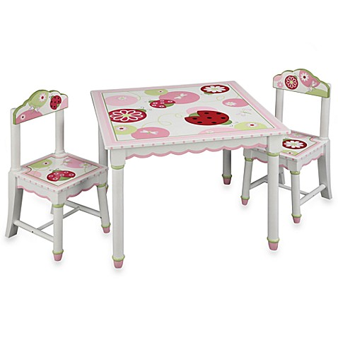 Sweetie Pie Table And Chairs 3 Piece Set By Lambs Ivy From Guidecraft