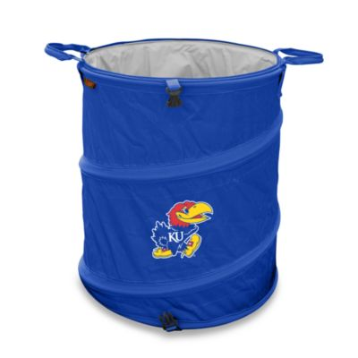 University of Kansas Trash Can