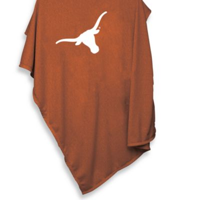 University of Texas 54-Inch x 84-Inch Sweatshirt Throw Blanket