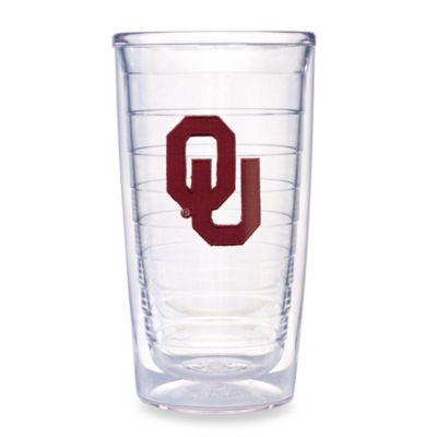Oklahoma University Tervis® Tumbler 16-Ounce Tumblers (Set of 4)