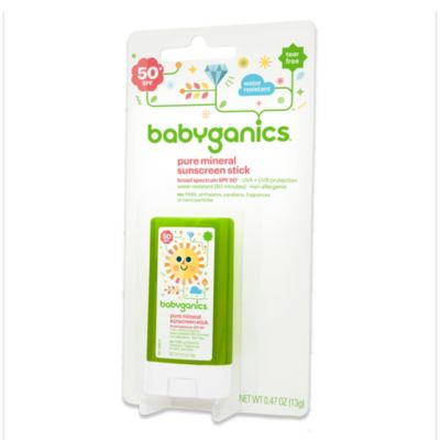 BabyGanics® Sunscreen - Face and Body SPF 50 .47-Ounce Stick