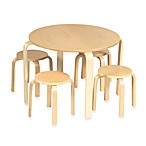 Guidecraft Nordic Table Set in Natural