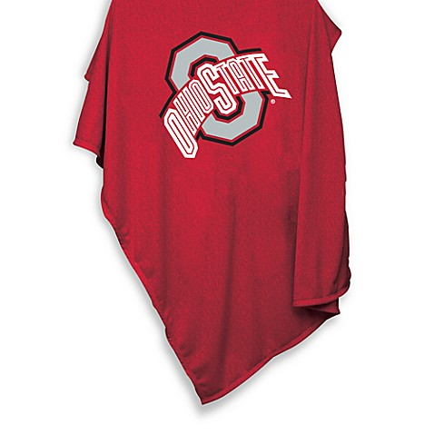 Ohio State University 84-Inch x 54-Inch Sweatshirt Throw Blanket