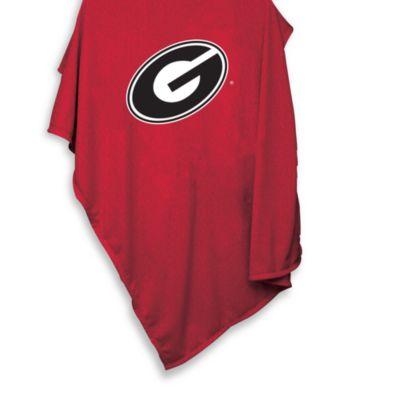University of Georgia 54-Inch x 84-Inch Sweatshirt Throw Blanket
