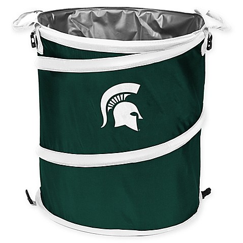 Michigan State 3-in-1 Trash Can/Cooler/Hamper