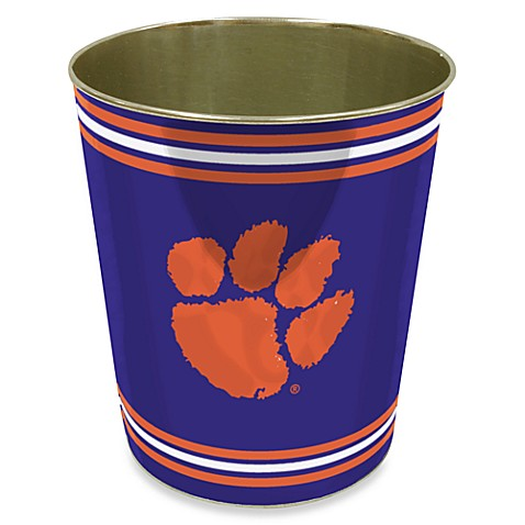 Clemson University Trash Can