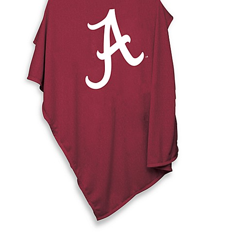 University of Alabama 84-Inch x 54-Inch Sweatshirt Throw Blanket