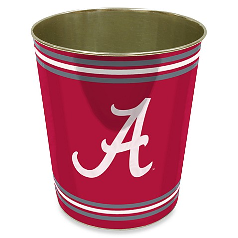 University of Alabama Trash Can