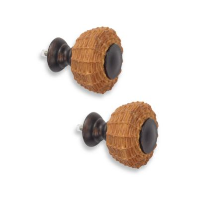 Cambria® Outdoor Living® Oil Rubbed Bronze Wicker Finials