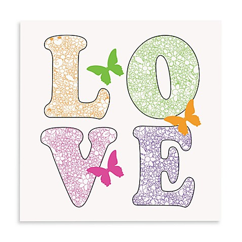Love with Color Wall Art