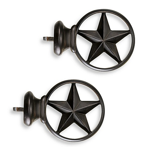 Buy Cambria 174 Complete Bronze Texas Star Finials Set Of 2
