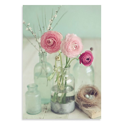 Blooming Bottles Wall Art