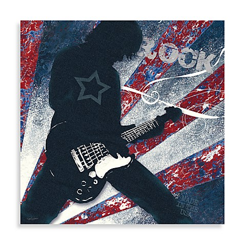 Rock star wall art bed bath beyond for Rock star photos for sale