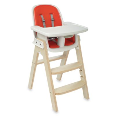 OXO Tot® Sprout High Chair in Orange/Birch