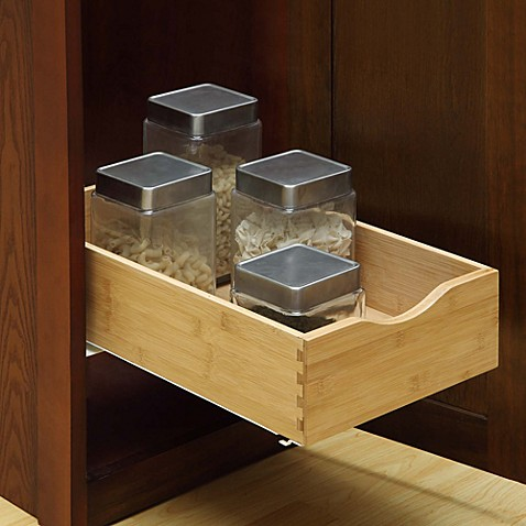 Hardwood Under Cabinet Drawer Bed Bath Beyond