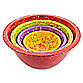 Zak! Designs® Confetti 4-Piece Assorted Mixing Bowl Set