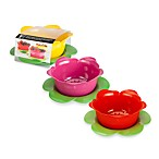 Zak! Designs® Garden Series 2-Piece Rose Colander Drip Bowl Set