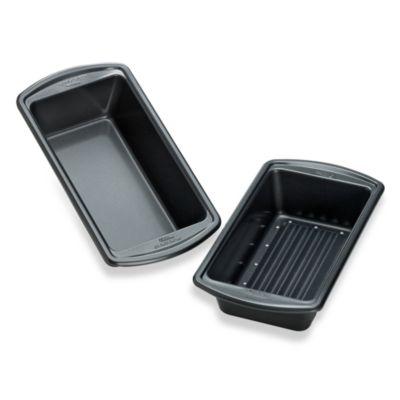 Wilton® Indulgence® 2-Piece Meatloaf Pan Set