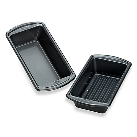 Wilton® Indulgence® 2-Piece Meatloaf Pan Set
