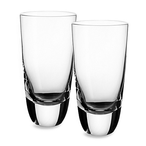 Villeroy & Boch American Bar 6-Inch Straight Bourbon HighBall (Set of 2)