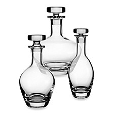 Villeroy & Boch Scotch Whiskey Crystal Decanters