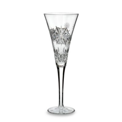 Waterford® Crystal Snowflake Wishes 1st Edition Joy Lismore Flute