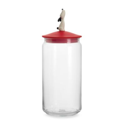 LulaJar Dog Food Jar in Red by Alessi