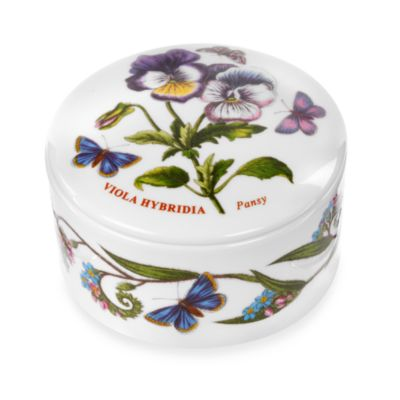 Portmeirion® Botanic Garden Round Box with Lid