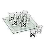 Circleware Fun 5-Inch Tic Tac Toe Board with 9 Shot Glasses