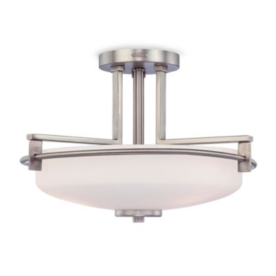 Quoizel Taylor Semi Flush Mount Light Fixture