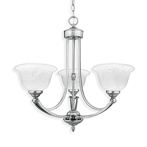 Quoizel®  Delray 3-Light Chandelier