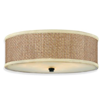 Quoizel® Zen Large Flush Mount Light Fixture