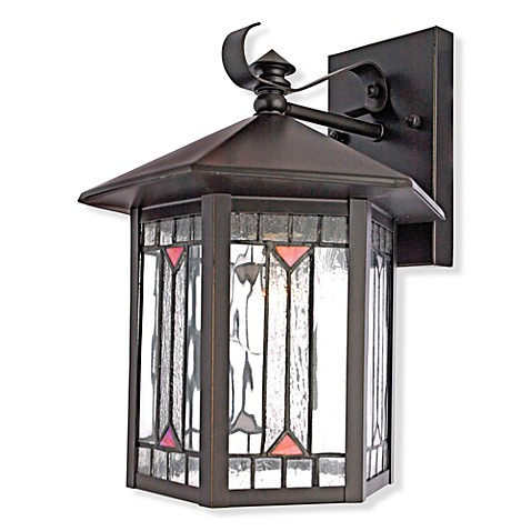 Quoizel®  Chaparral Medium Wall Lantern