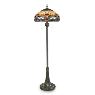 Quoizel Belle Fleur Floor Lamp