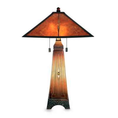 Quoizel Amber Table Lamp