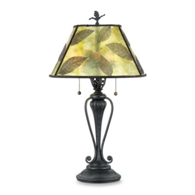 Quoizel® Mica Leaf Table Lamp