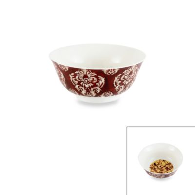 Prima Donna Designs Inside Out Birds 6-Inch Porcelain Bowl