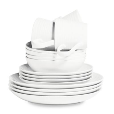 Gordon Ramsay by Royal Doulton® Maze 16-Piece Dinnerware Set in White