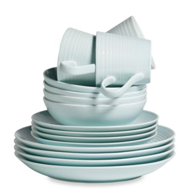 Royal Doulton Blue Dinnerware Set