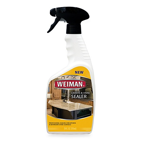 Weiman® Granite & Stone Sealer in 24-Ounce Spray Bottle