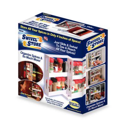 Swivel Store™ Sliding Cabinet Organizer