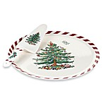 Spode® Christmas Tree Peppermint Cake Plate & Server