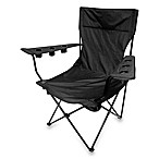 Kingpin Folding Chair in Black